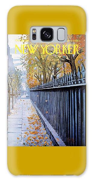 Autumn In New York Galaxy Case