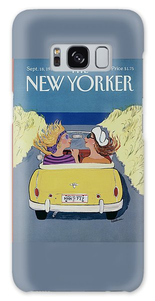 The New Yorker Cover - September 18th, 1989 Galaxy Case