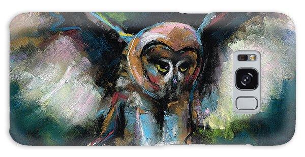 The Night Owl Galaxy Case by Frances Marino