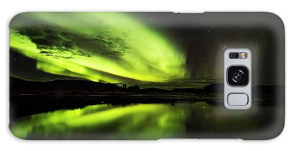 The Northern Lights Thingvellir Galaxy Case by Gunnar Orn Arnason