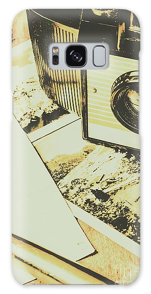 Faded Galaxy Case - The Nostalgic Archive by Jorgo Photography - Wall Art Gallery