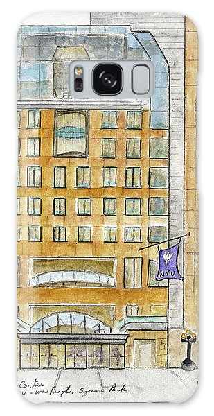 The Nyu Kimmel Student Center Galaxy Case by AFineLyne