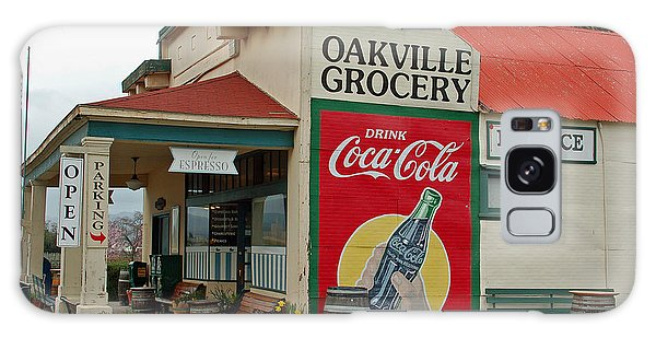 The Oakville Grocery Galaxy Case by Suzanne Gaff