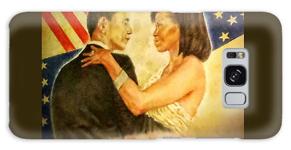 Barack And Michelle Galaxy Case