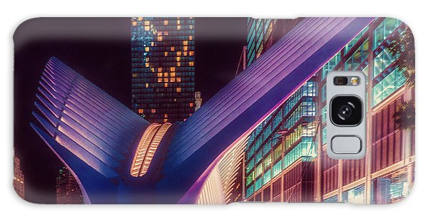 Galaxy Case featuring the photograph The Occulus At Midnight by Chris Lord