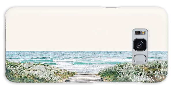 The Ocean Is Calling And I Must Go  Galaxy Case by Uma Gokhale