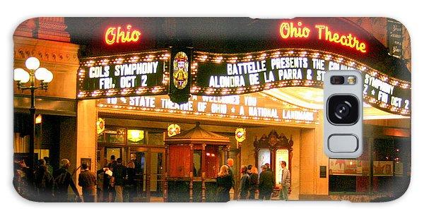 The Ohio Theater At Night Galaxy Case