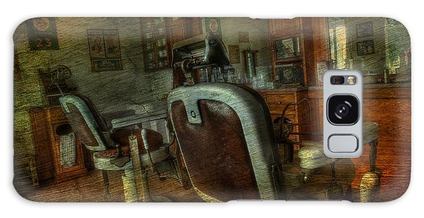 The Old Barbershop - Vintage - Nostalgia Galaxy Case