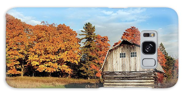 The Old Barn In Autumn Galaxy Case by Heidi Hermes
