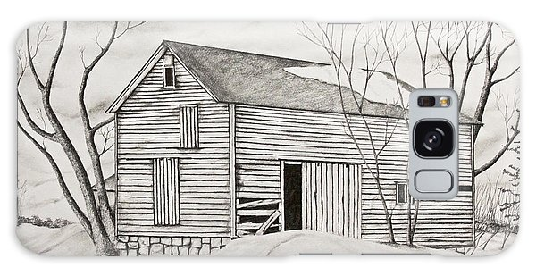 The Old Barn Inwinter Galaxy Case