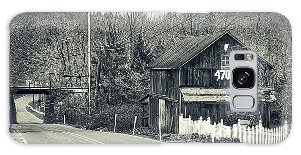 Galaxy Case featuring the photograph The Old Barn by Mark Dodd