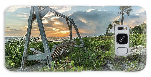 The Old Beach Swing -  Sullivan's Island, Sc Galaxy Case