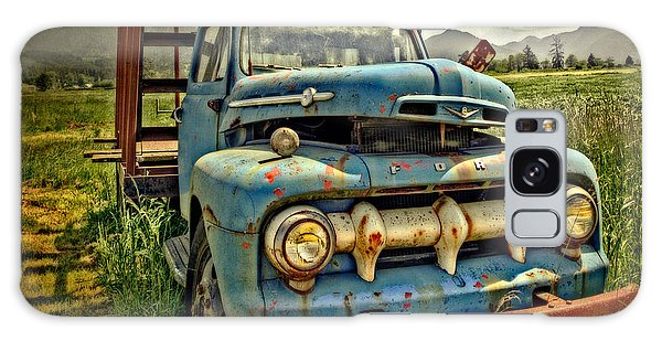 The Blue Classic Ford Truck Galaxy Case