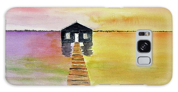 The Old Boat Shed Galaxy Case