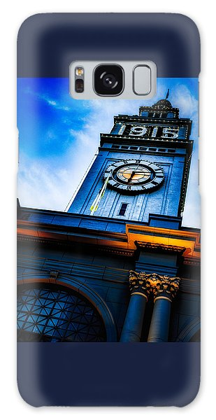 The Old Clock Tower Galaxy Case