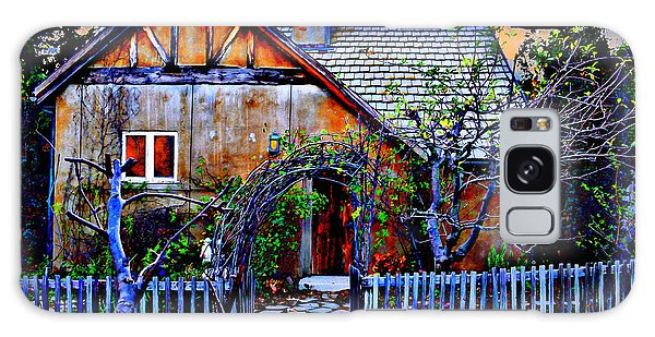 Cottage Galaxy Case - The Old Cottage by Glenn McCarthy Art and Photography