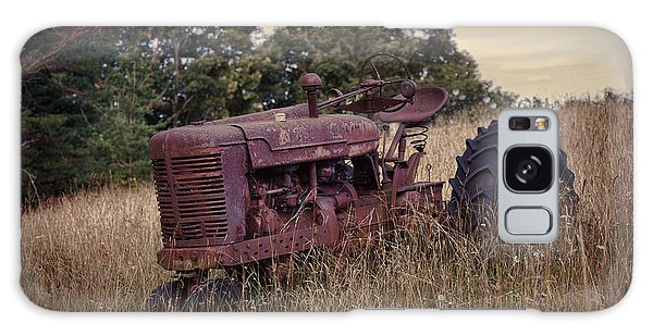The Old Farmall Galaxy Case by Laurinda Bowling