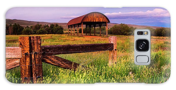 The Old Hay Barn Galaxy Case by John De Bord