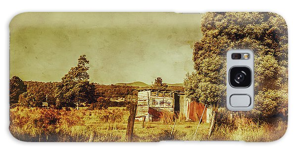 Shed Galaxy Case - The Old Hay Barn by Jorgo Photography - Wall Art Gallery