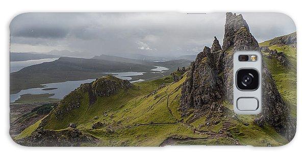 The Old Man Of Storr, Isle Of Skye, Uk Galaxy Case