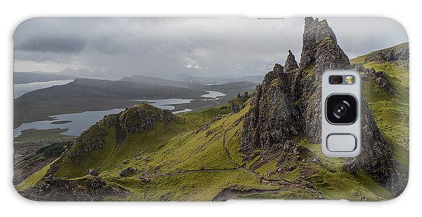 The Old Man Of Storr, Isle Of Skye, Uk Galaxy Case