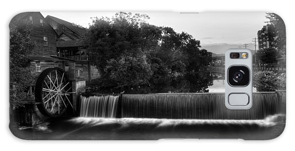 The Old Mill In Black And White Galaxy Case