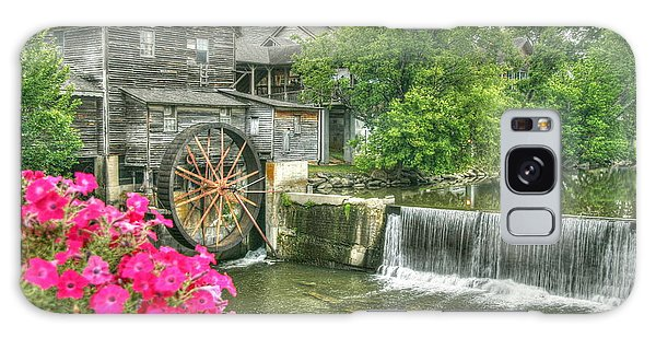 The Old Mill Galaxy Case by Myrna Bradshaw