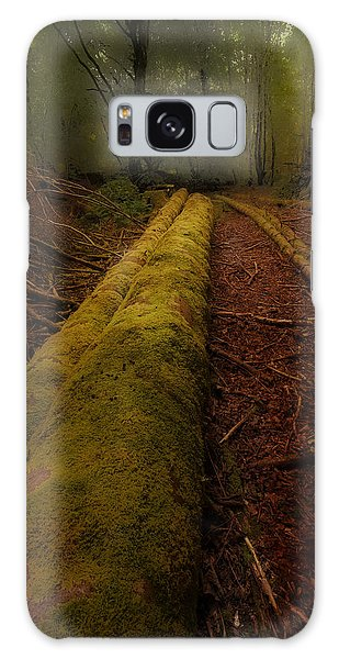 The Old Mossy Trunk Galaxy Case