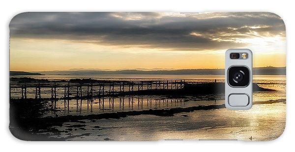 The Old Pier In Culross, Scotland Galaxy Case