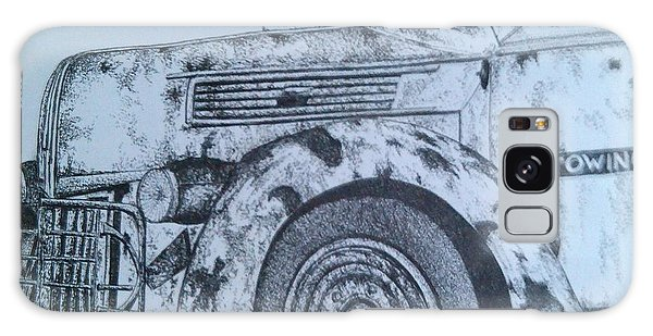 Old Truck Galaxy Case - The Old Tow by Melinda Johnston