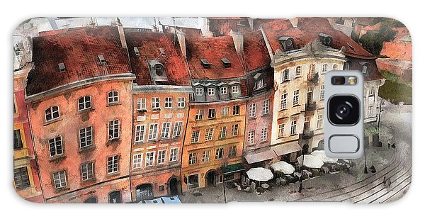Old Town In Warsaw # 20 Galaxy Case