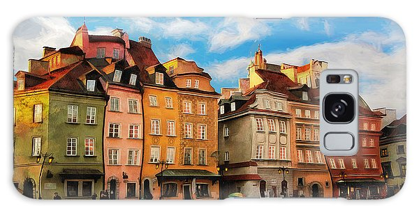 Old Town In Warsaw # 23 Galaxy Case