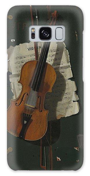 Violin Galaxy Case - The Old Violin by John Frederick Peto