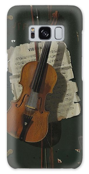 Violin Galaxy Case - The Old Violin by John Frederick Peto