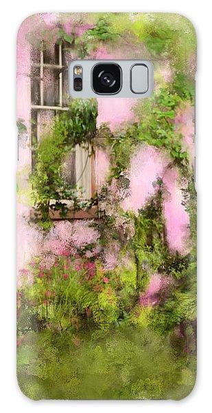 The Olde Pink House In Savannah Georgia Galaxy Case