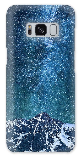 The One Who Holds The Stars Galaxy Case