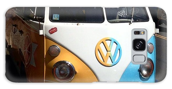 Microbus Galaxy Case - The Only Thing That Makes A Beach Day by Caroline B