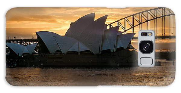 The Opera House Galaxy Case by Andrew Matwijec