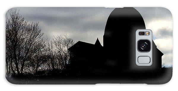 The Oratory - Silhouette Galaxy Case by Robert Knight