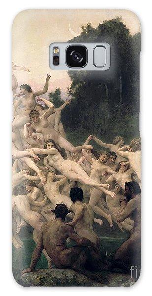 Mythological Galaxy Case - The Oreads by William-Adolphe Bouguereau