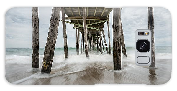 The Outer Banks North Carolina Fishing Pier Galaxy Case