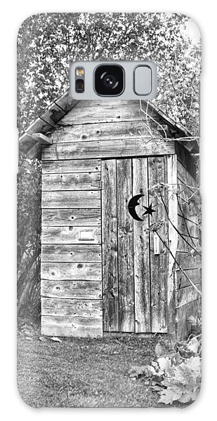The Outhouse Bw Galaxy Case