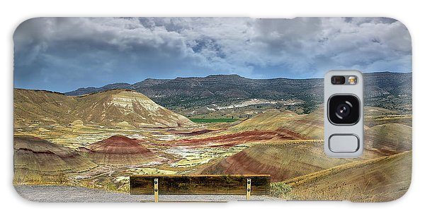 The Overlook At Painted Hills In Oregon Galaxy Case