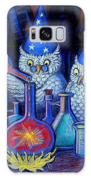 The Owl Chemists Galaxy Case