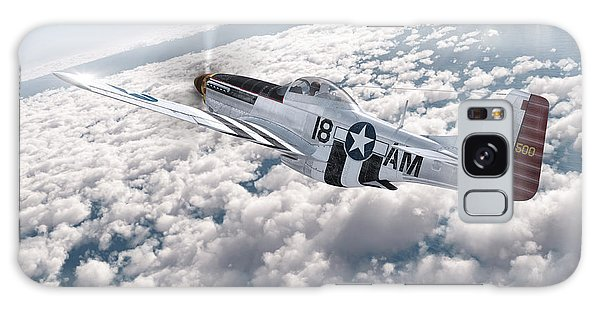 The P-51 Mustang Galaxy Case by David Collins