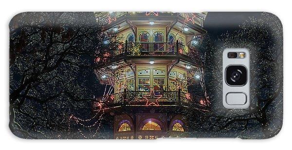 The Pagoda At Christmas Galaxy Case