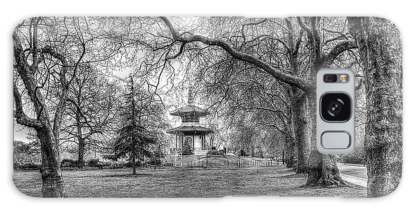 The Pagoda Battersea Park London Galaxy Case