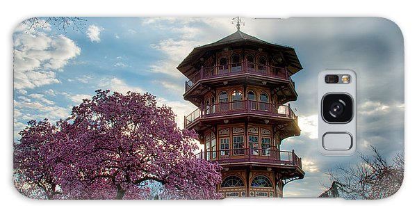 The Pagoda In Spring Galaxy Case