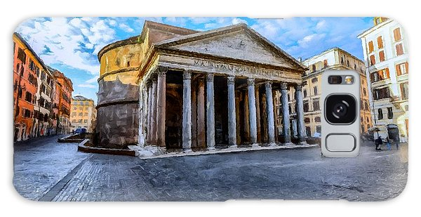 The Pantheon Rome Galaxy Case by David Dehner