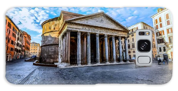 The Pantheon Rome Galaxy Case